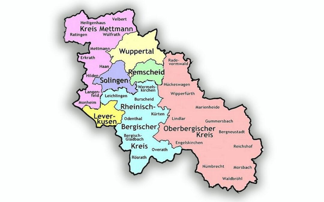 Ab dem 01.04.2017 ist Altersglück auch im Bergischen Land und Umland vertreten.