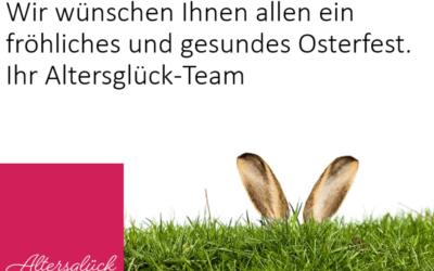 Wir wünschen Ihnen glückliche und gesunde Ostern 2021!